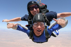 Tandem Skydive at Skydive Mesquite for Las Vegas Skydiving